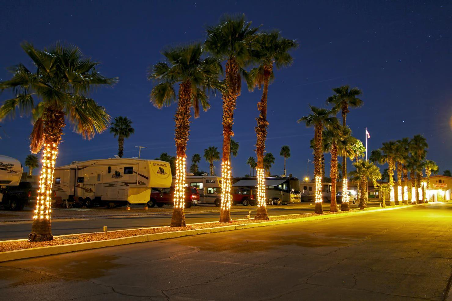 Night life at Bonita Vista Resort
