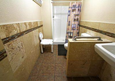 Clean bathrooms at Bonita Vista Resort