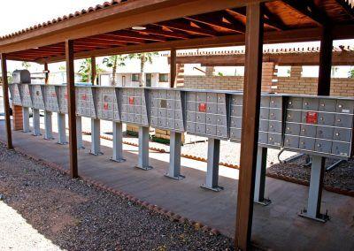 Mailboxes at Bonita Vista Resort