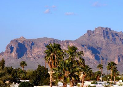 Superstition Mountains in Apache Junction, AZ