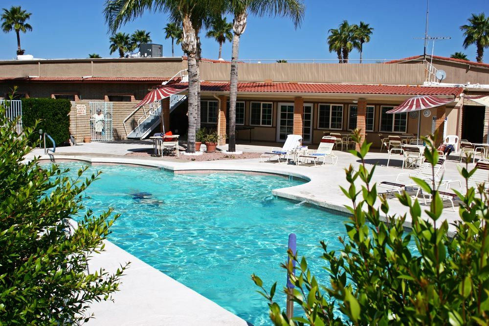Come enjoy the tropical environment at our RV Park in Apache Junction, AZ