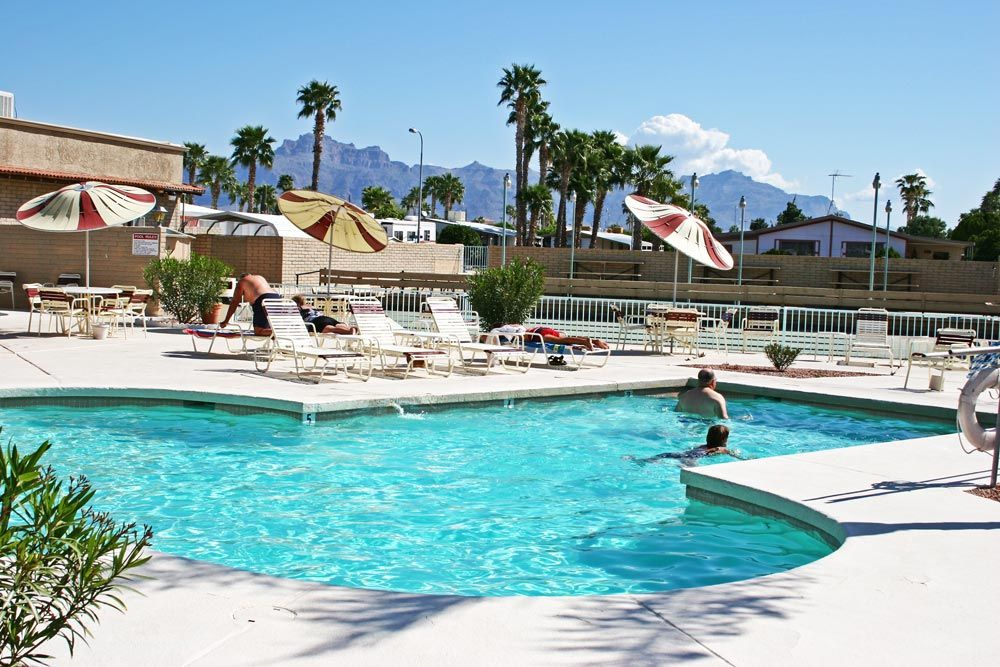 Soak in our refreshing pool after exploring the all the Coachella Valley offers